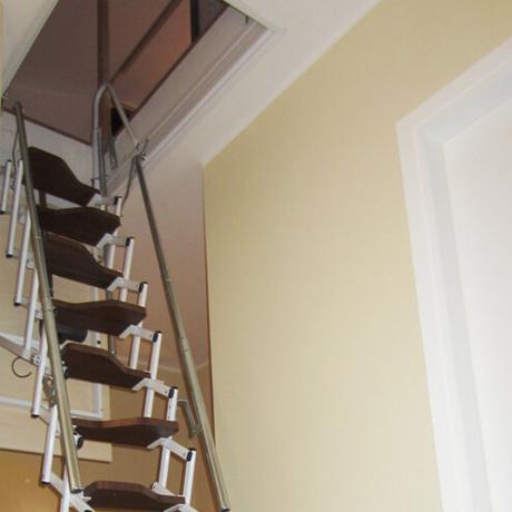 Retrattile a soffitta pantografo for Scala per soffitta