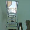 scala retrattile motorizzata per tetti piani